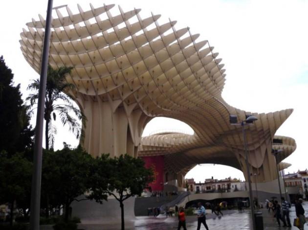 Estructura madera Sevilla