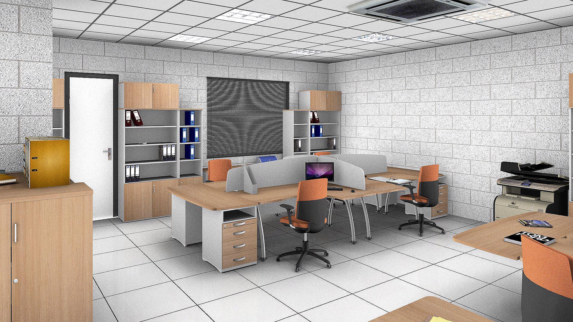 Actiu participa en una experiencia pionera para adaptar su for Muebles de oficina volumen