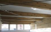 Vista general del lucernario del centro de salud de Oliva