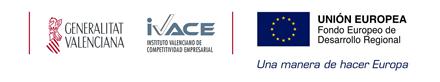 Logos financiadores Proyectos IVACE