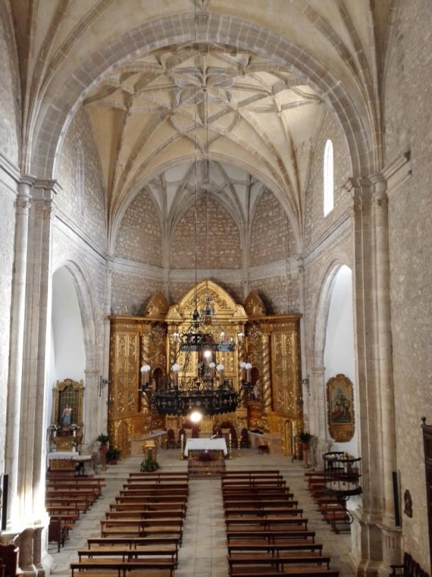 Iglesia de la Inmaculada Concepción de Horcajo de Santiago (Cuenca) en la actualidad.