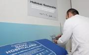 Dispositivo de medición de la calidad del aire, en este caso para espacios hospitalarios.