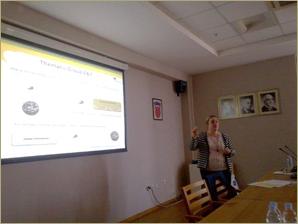 Presentación de AIDIMA en la asamblea general de  Innovawood celebrada en Zagreb