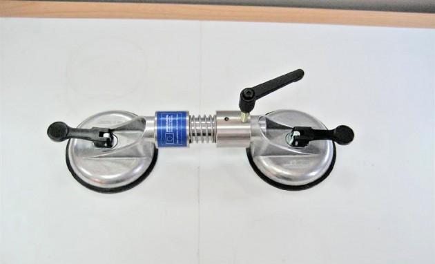 Unión de placas de 200 mm., con un sólo dispositivo.