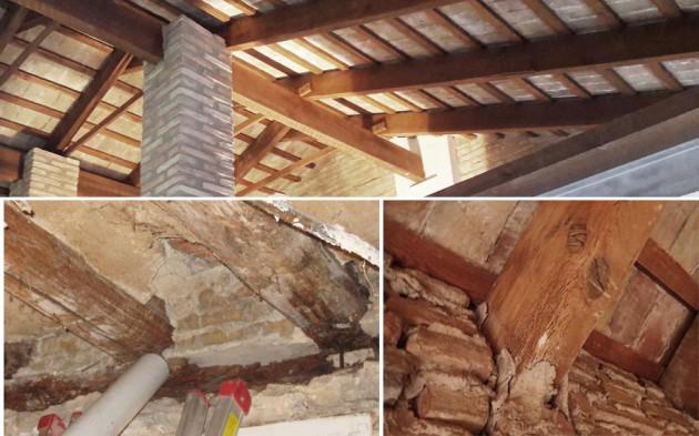 Inspecciones en madera Cabañal