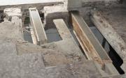 . Reparación de viguetas en un inmueble del Cabañal mediante el sistema beta (varillas de fibra de vidrio y resinas epoxi).