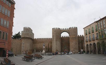 Fotografía de la muralla de Ávila. Fuente: FSMLRPH
