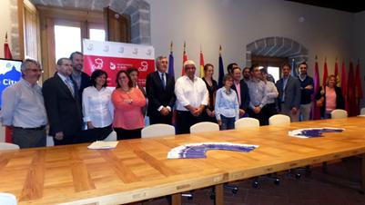 Primera reunión del proyecto europeo SHCity. Fuente: Fundación Santa María la Real del Patrimonio Histórico