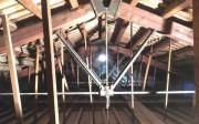Fotografía 1. Ejemplo de sistema constructivo tradicional con madera.