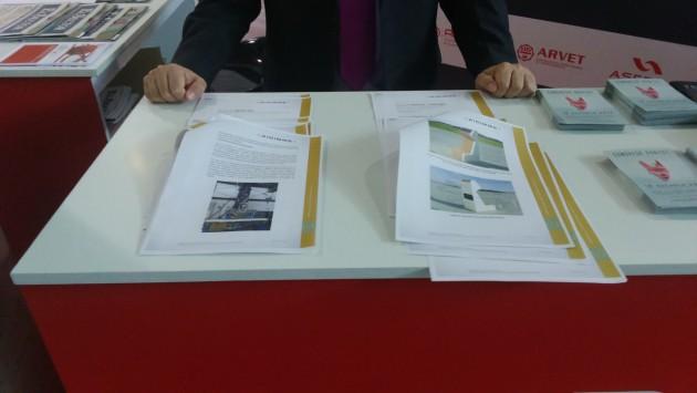 Fotografía 7. Transferencia y promoción de resultados a empresas valencianas en Feria Hábitat Valencia mediante circulares técnicas en el stand de AIDIMME.