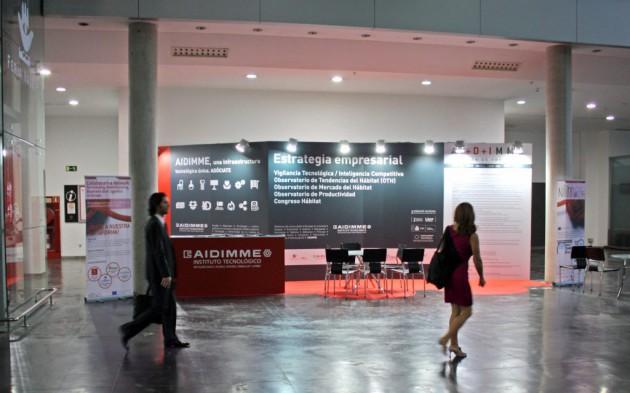 Estand del Instituto Tecnológico AIDIMME en Feria Hábitat Valencia 2017.