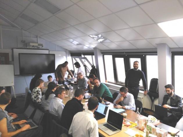 Miembros del consorcio durante la reunión general en Londres el pasado 11 de octubre.