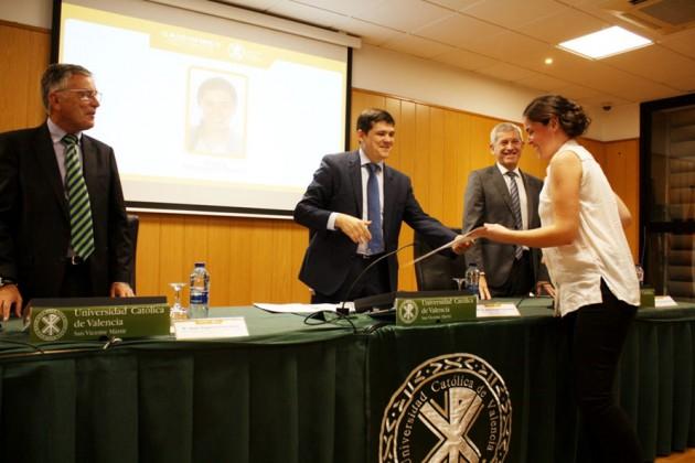 Alumna de los Másteres de AIDIMME-UCV 2016-17