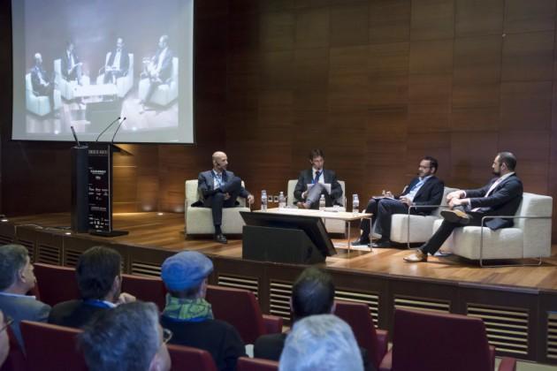 De izda., a dcha. Vicente Roselló, Vicente Sales, Raúl Royo y Jordi del Campo.