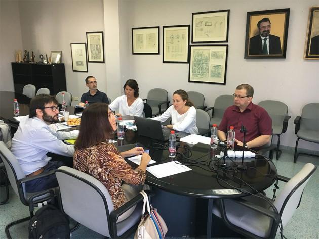 Reunión del proyecto OVOMAX en las instalaciones de AIDIMME (Sede Leonardo Da Vinci).