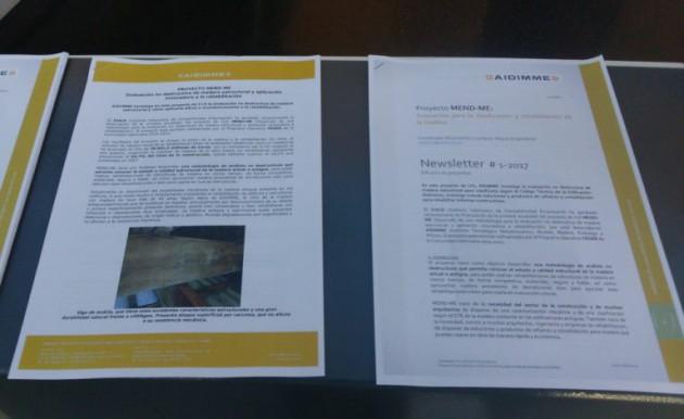 Imagen 7. Transferencia y promoción de resultados a empresas valencianas en el Congreso Hábitat 2017 mediante artículos y circulares técnicas.