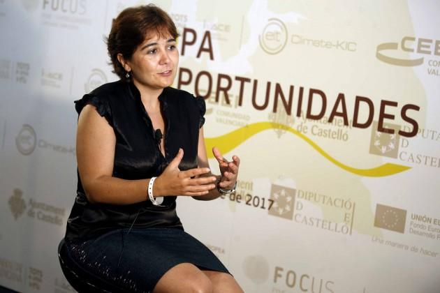 Patricia Boquera en la jornada Focus Pyme y Emprendimiento Castellón.