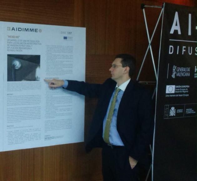 Imagen 5. Difusión del proyecto en el Congreso Hábitat 2017 mediante póster.