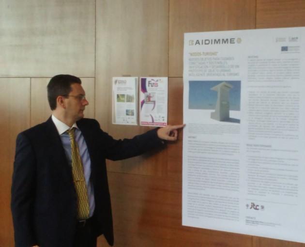 Imagen 7. Difusión del proyecto en el Congreso Hábitat 2017 mediante póster.