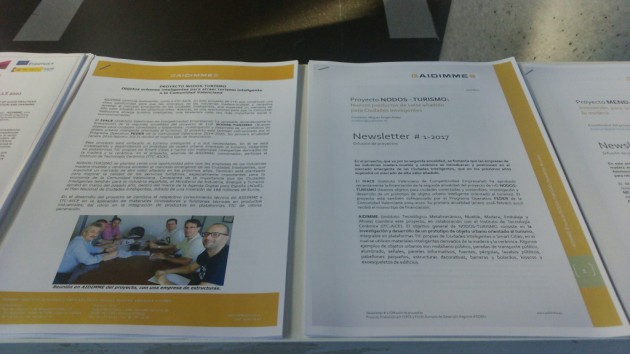 Imagen 15. Transferencia y promoción de resultados a empresas valencianas en el Congreso Hábitat 2017 mediante artículos y circulares técnicas.