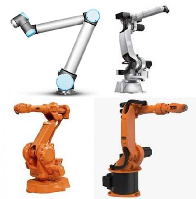 Brazos robóticos.