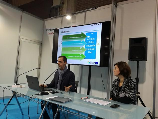 Manuel Sánchez presenta las claves para elaborar el Plan Regional de simbiosis industrial de la Comunidad Valenciana a través del proyecto europeo TRIS.