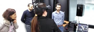 Experimentación de la realidad virtual en AIDIMME.